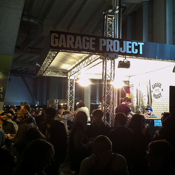 Garage project stand at Beervana, Wellington, 2013