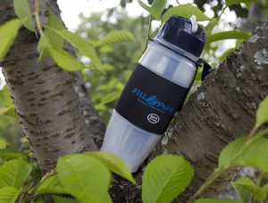 Seychelle FIll 2 Pure Travel Safe Water Filter Bottle