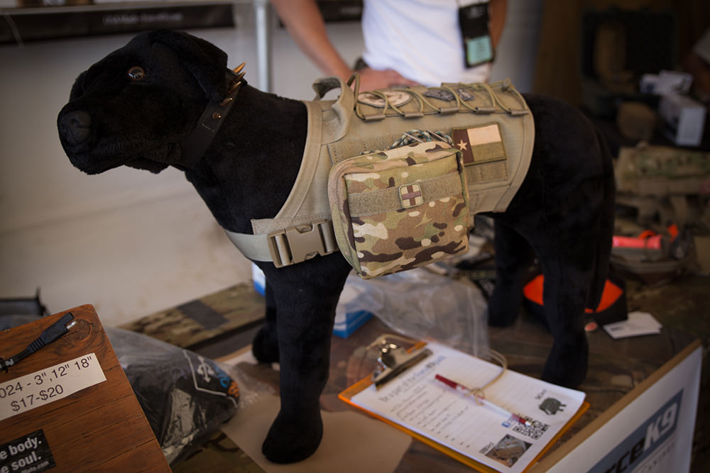 Tactical vest for your dog…as you do…
