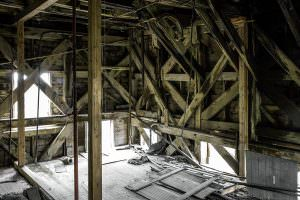 Inside the Kennecott Mill building