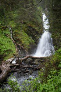 Whittier waterfall