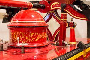 Valdez restored antique fire engine