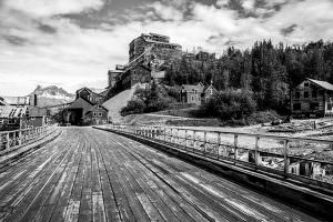 The abandoned Kennecott Copper Mill Town