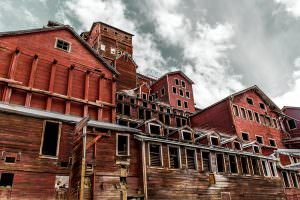 Kennecott Copper Concentration Mill Building, Alaska