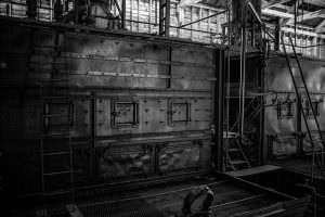 Inside the Power Plant, Kennecott Copper Corporation Mill Town, Alaska