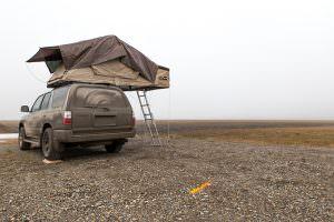 Tundra campsite