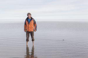 Ben in the Arctic Ocean