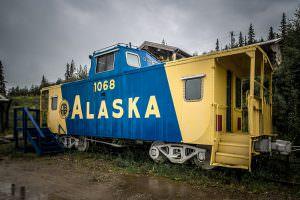 Aurora Express Caboose, Fairbanks