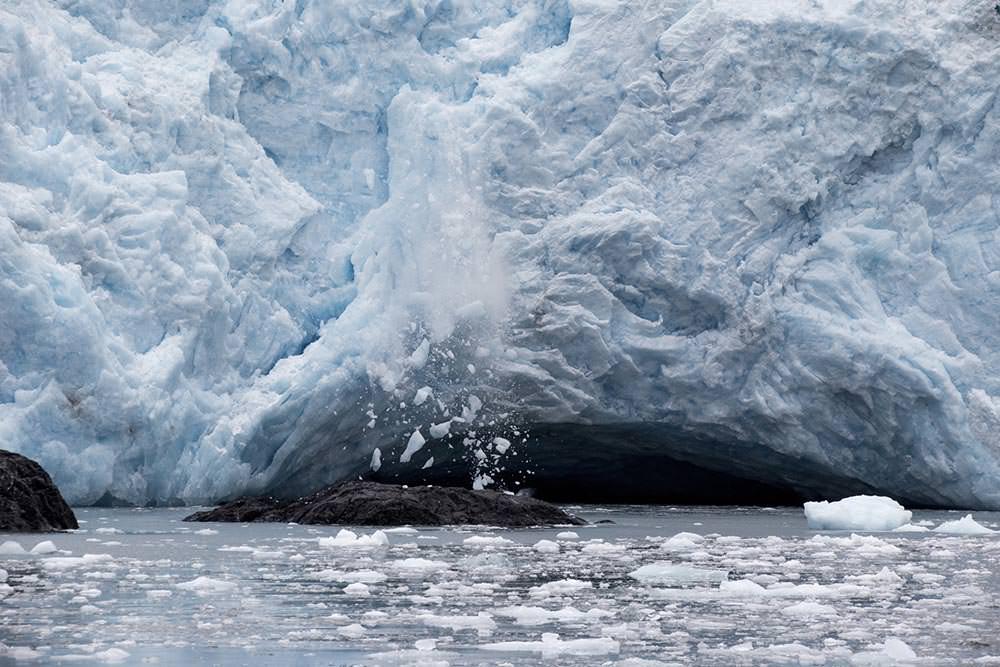 Holgate Glacier Calving