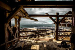 View from the top of the Kennecott Mill Building