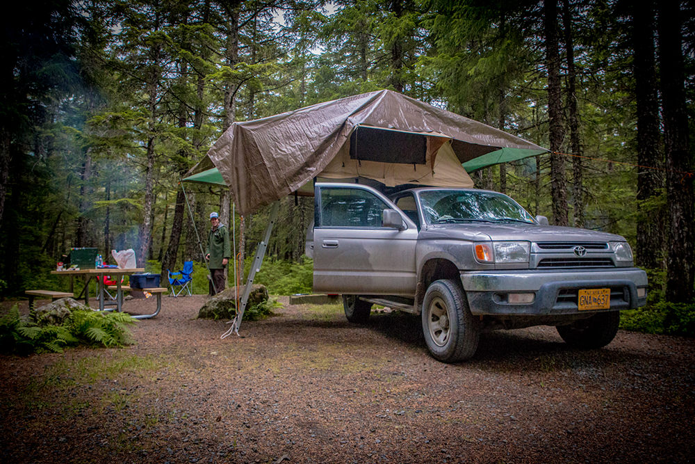 Camping in Haines
