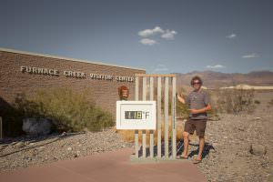 Warm day at Furnace Creek