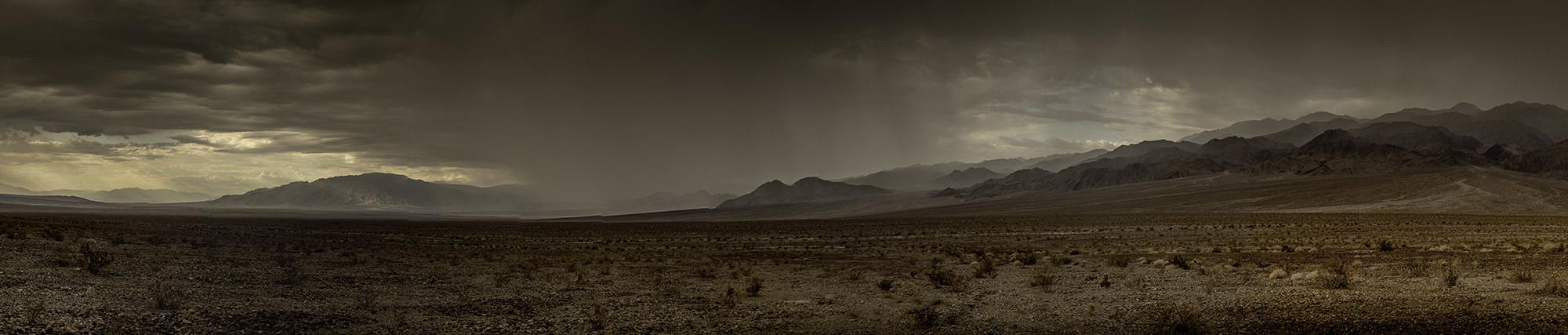 Rain in Death Valley National Park