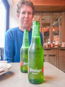 Steinlager? At least you tried NYC. Sort of.