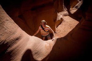 Slot Canyon, Escalante—Grand Staircase National Monument