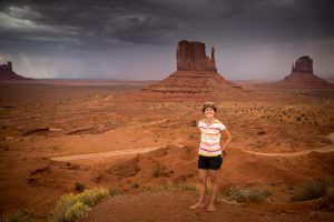 Emma at Monument Valley