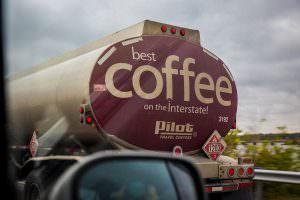 Coffee tanker?