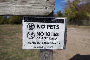 New Jersey sign 'No Kites'