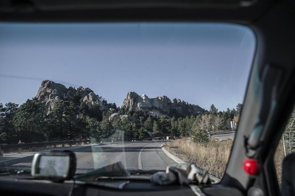 Mt Rushmore from the road