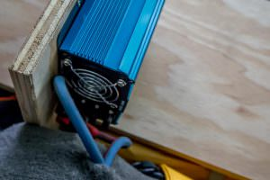 This cooling fan has been effective, despite us failing to leave enough clearance…