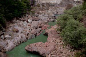 A small river.