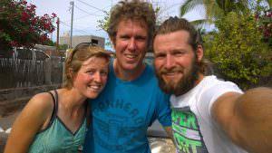 Two Flightless Kiwis and Jamie