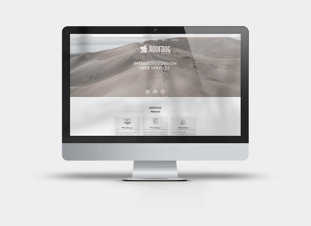 Roofdog Media Website