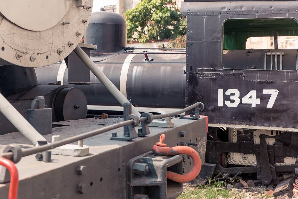 This train 'museum' was of questionable quality, but the chap at the gate was friendly. Plus, can't resist a yard full of partially restored trains.