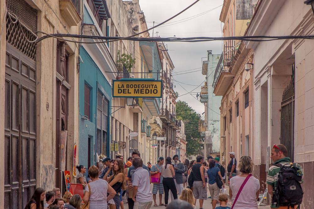 Thronging with tourists and locals alike, Havana Vieja is as bustling and vibrant as any other neighbourhood.