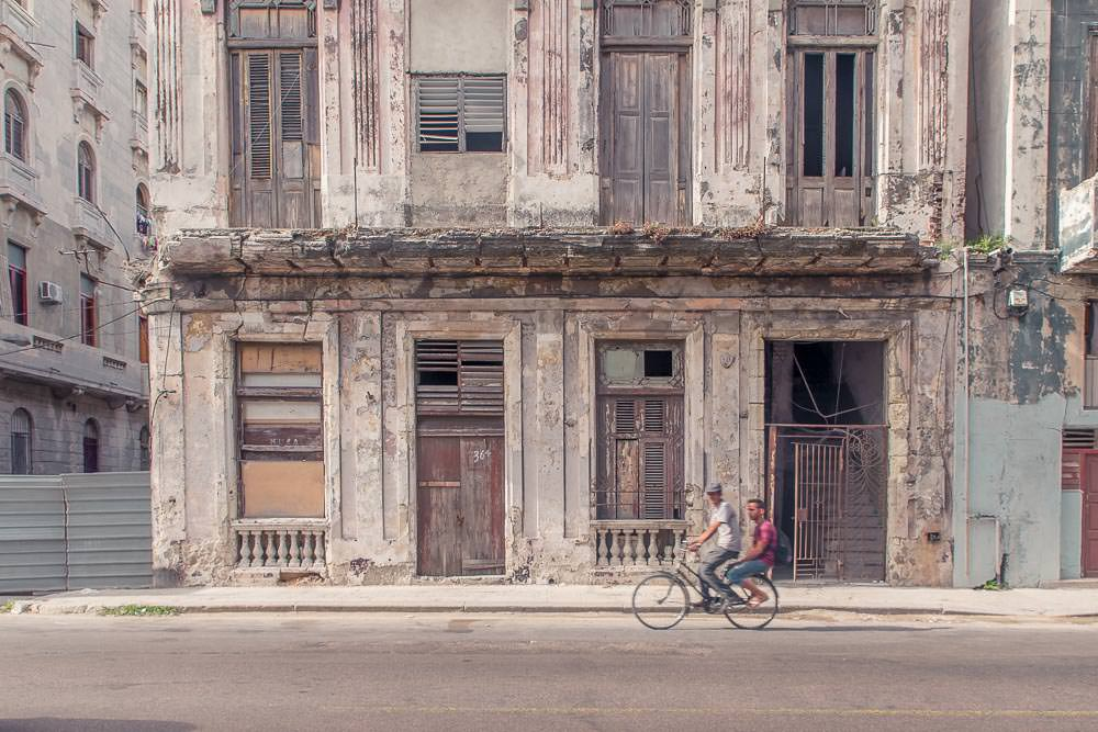We knew we'd miss the decaying streets of Havana Centro.