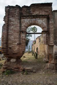 Abandoned archway.