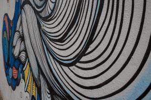 Street art in Culiacán, Sinaloa, Mexico.