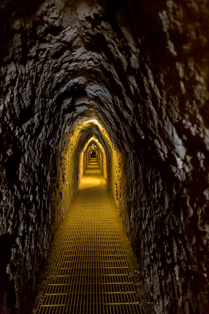 Nothing much, just a tunnel beneath the largest pyramid in the world.