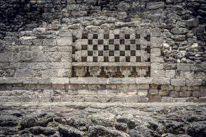 Becan ruins.