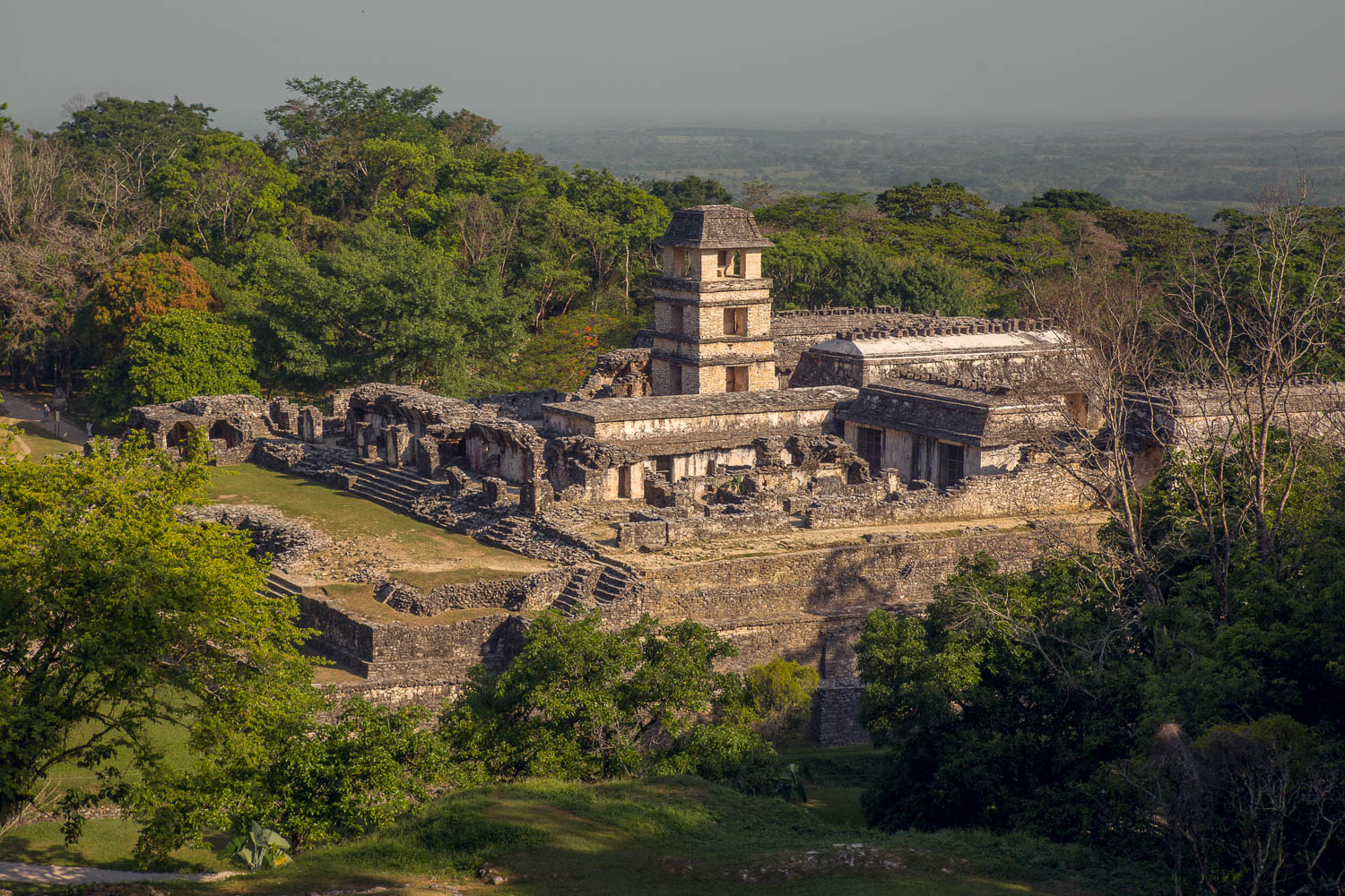 The Palace at Palenque.