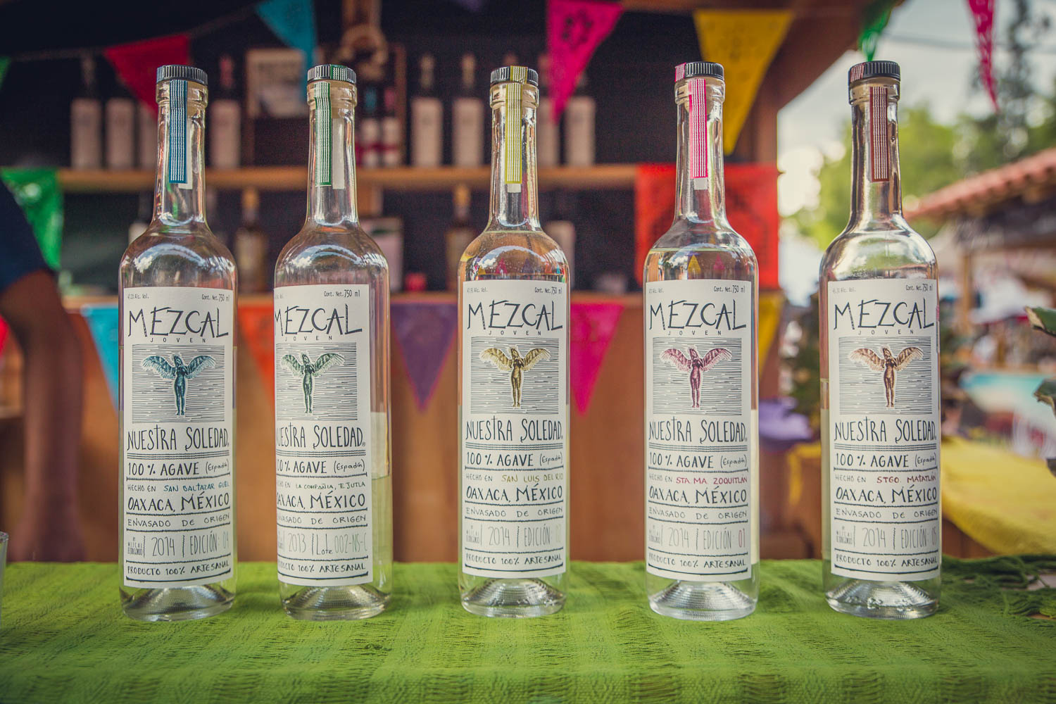 No shortage of Mezcal to sample in these parts…